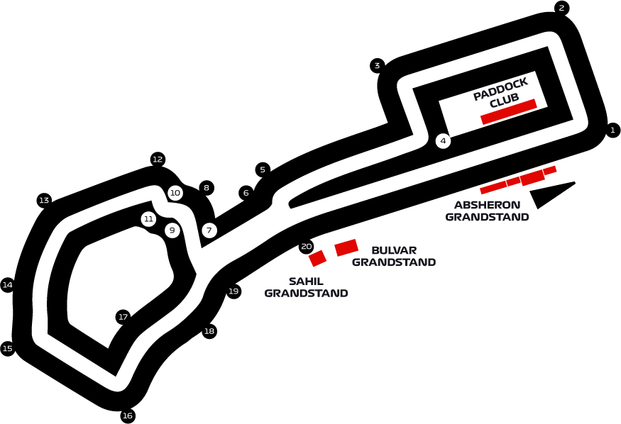Gp F1 Calendario 2020.2020 Formula 1 Azerbaijan Grand Prix F1 Experiences