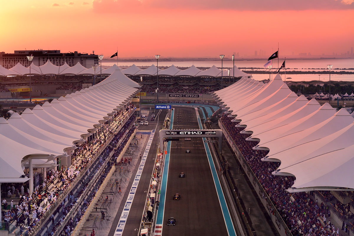 FORMULA 1 ETIHAD AIRWAYS ABU DHABI GRAND PRIX 2019