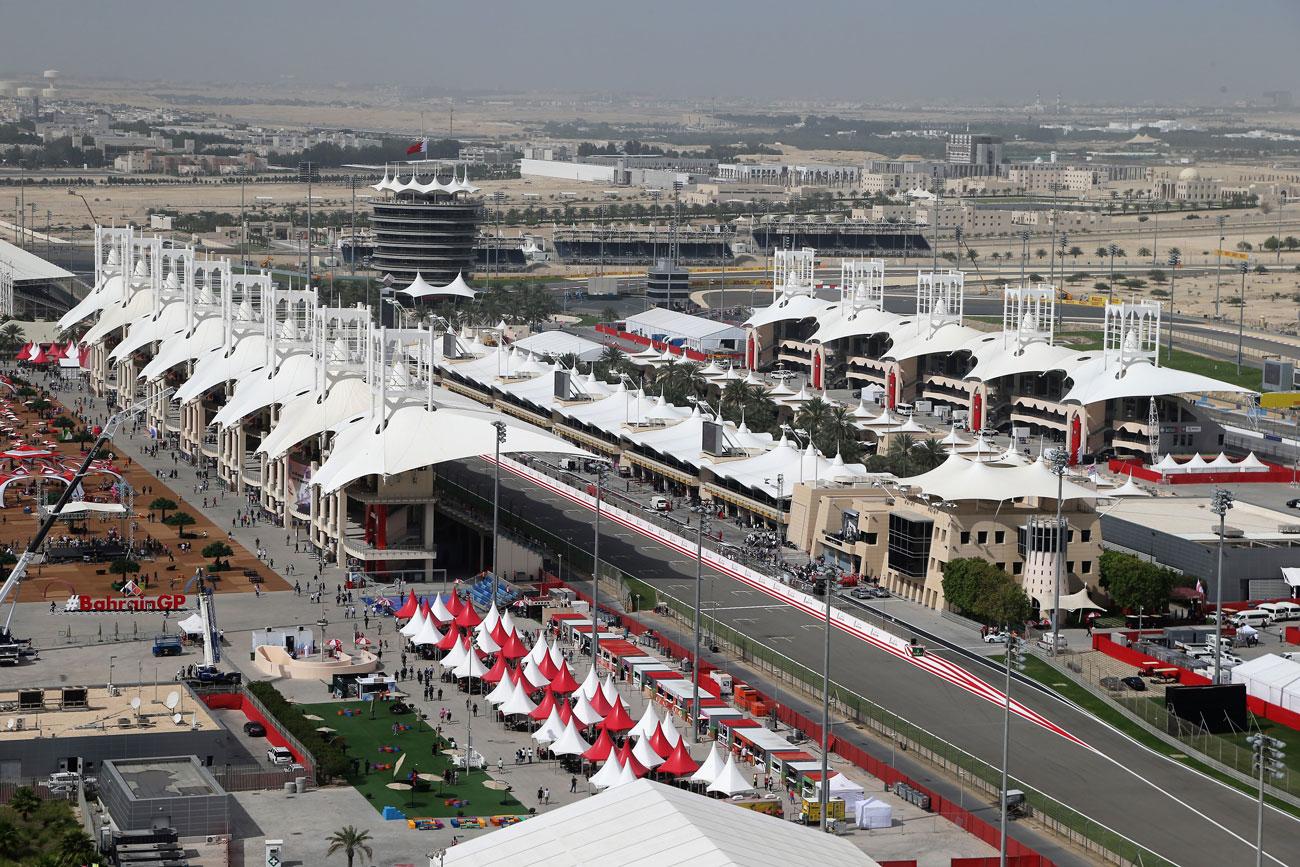 FORMULA 1 BAHRAIN GRAND PRIX 2020