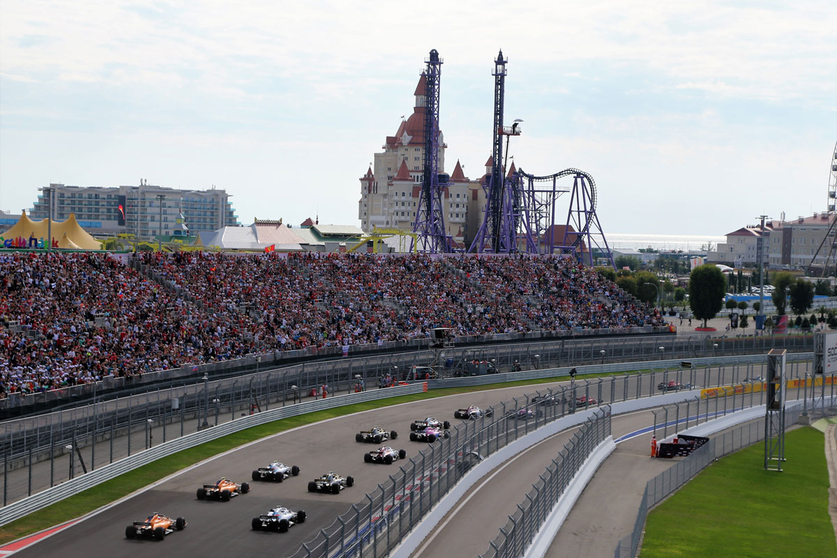 FORMULA 1 VTB RUSSIAN GRAND PRIX 2019