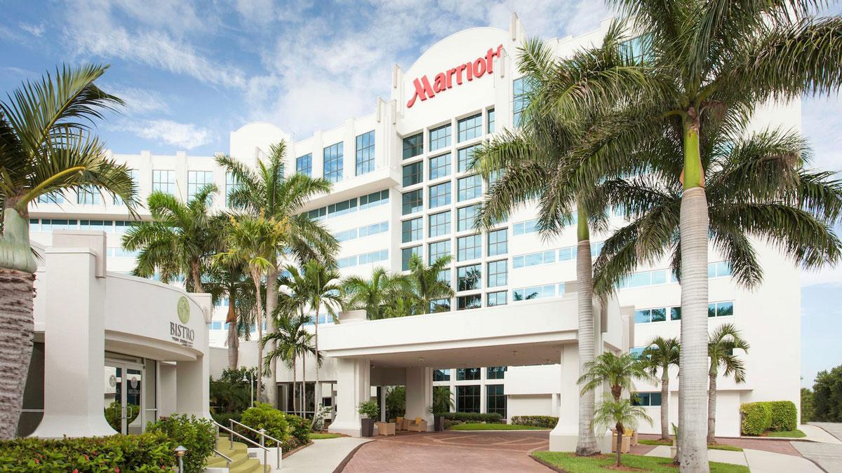 barrett jackson vip experiences palm beach accommodations West Palm Beach Marriott exterior