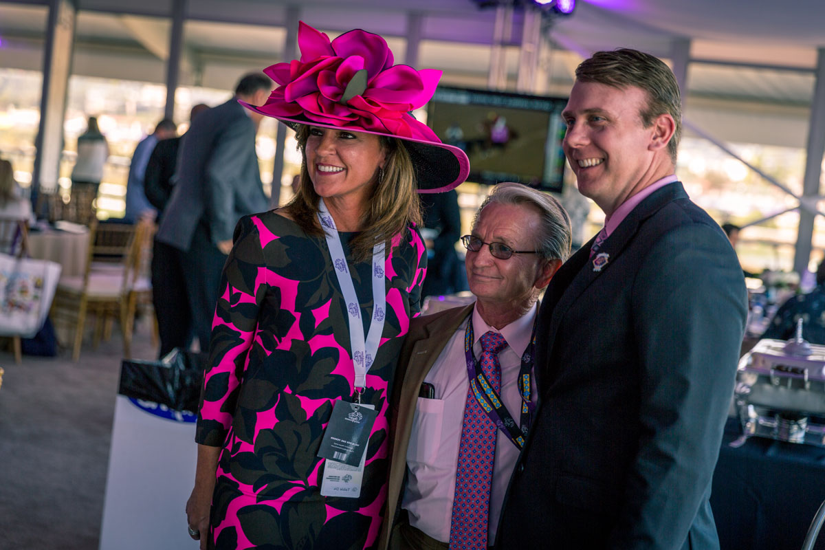 photo with pat day at the breeders cup world championships