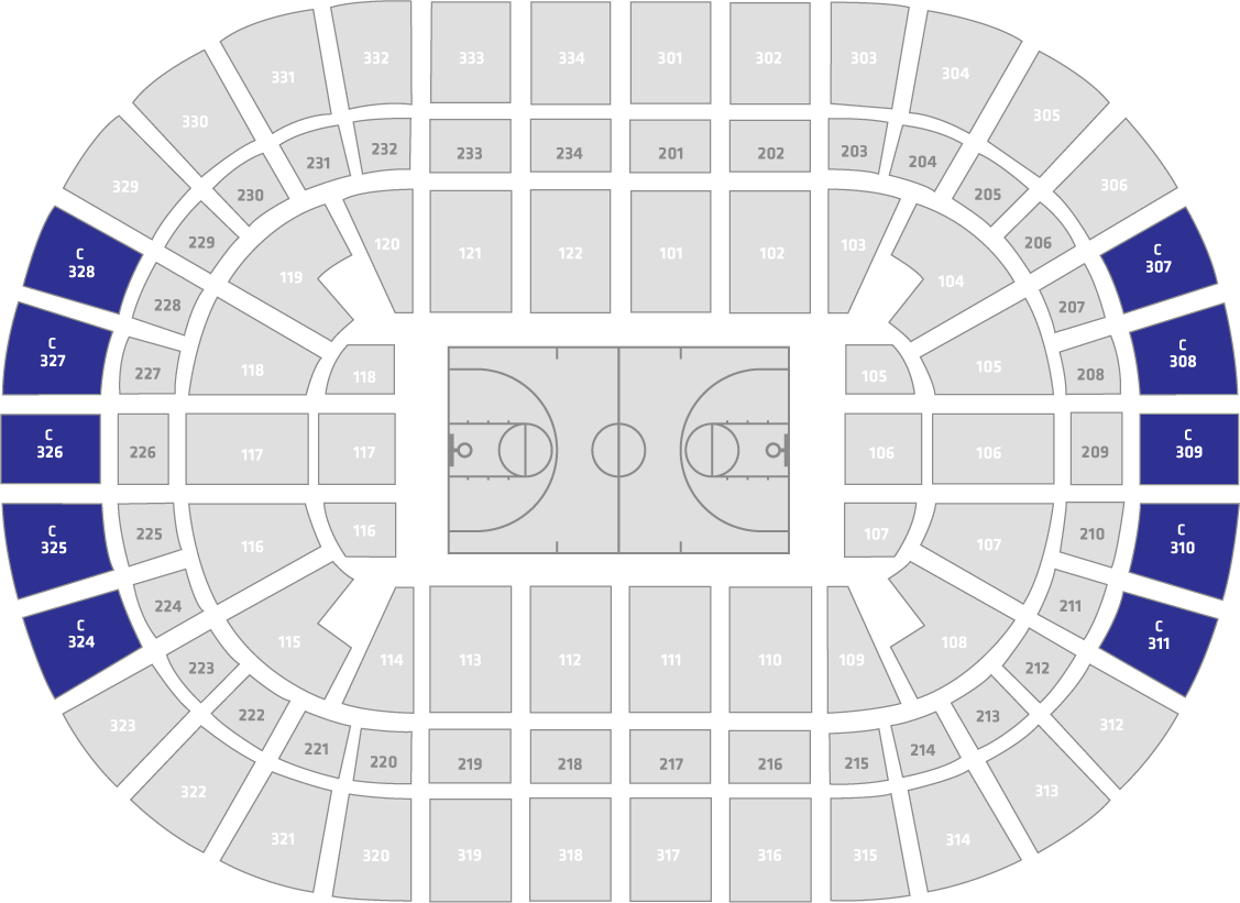 NBA All-Star 2020 Tickets - Blue C