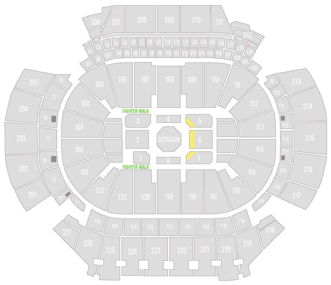 UFC 236 State Farm Arena Seating Chart Challenger