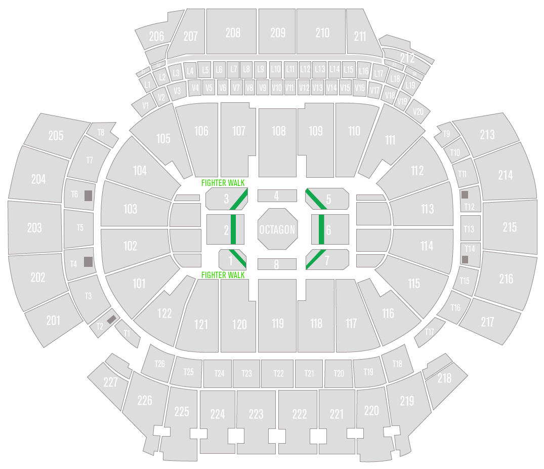 UFC 236 State Farm Arena Seating Chart Contender