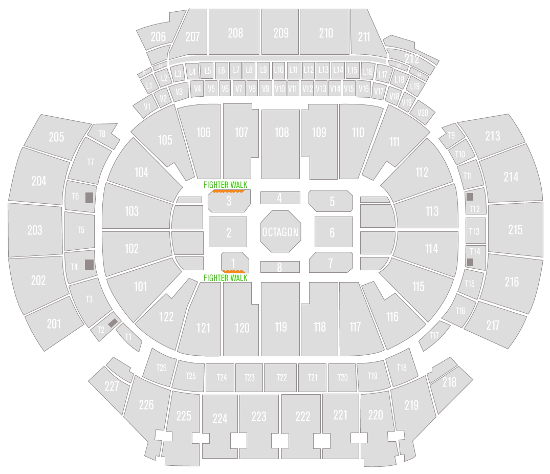 UFC 236 State Farm Arena Seating Chart Edge