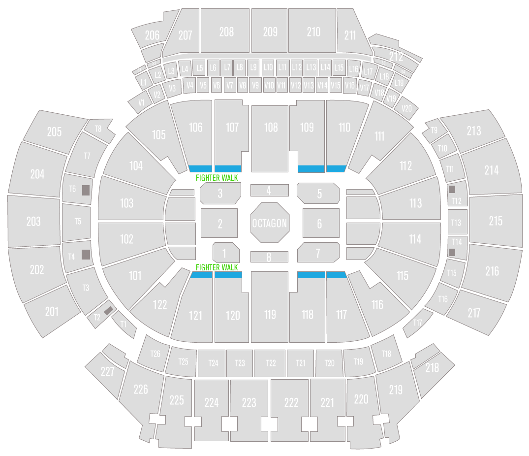 UFC 236 State Farm Arena Superfan Seating Chart