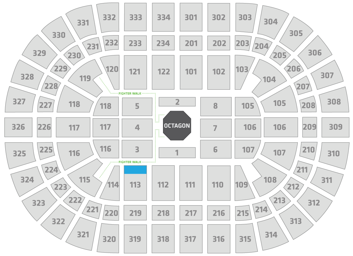 UFC 238 United Center Seating Chart Superfan