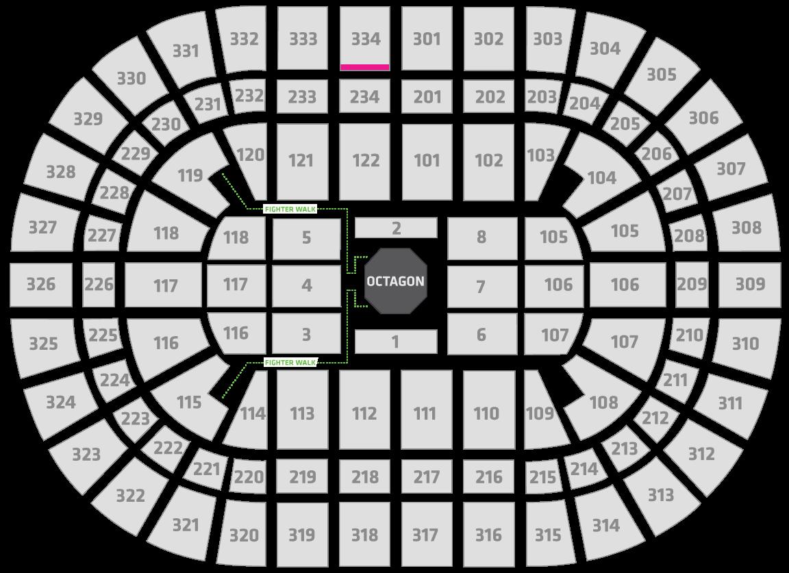 UFC 238 United Center Seating Chart Uppercut