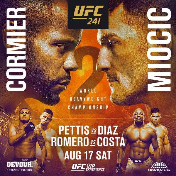 UFC 241 Event Thumbnail