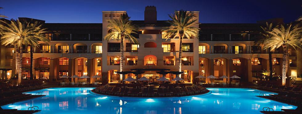 barrett jackson vip experience Scottsdale accommodation Fairmont exterior