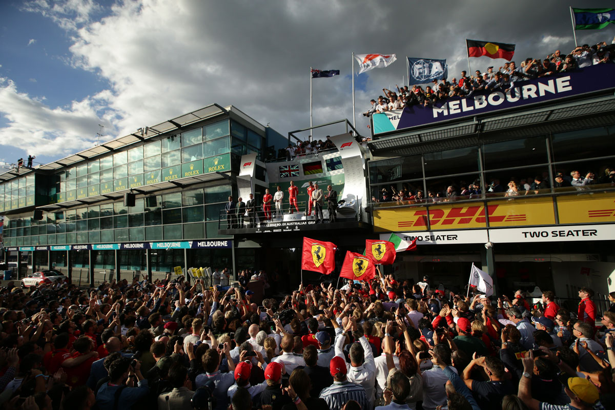 2020 Australian Grand Prix Official Ticket Packages