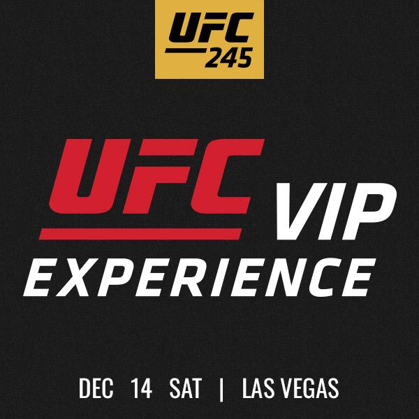 UFC 245 Tickets - UFC 245 Pack...