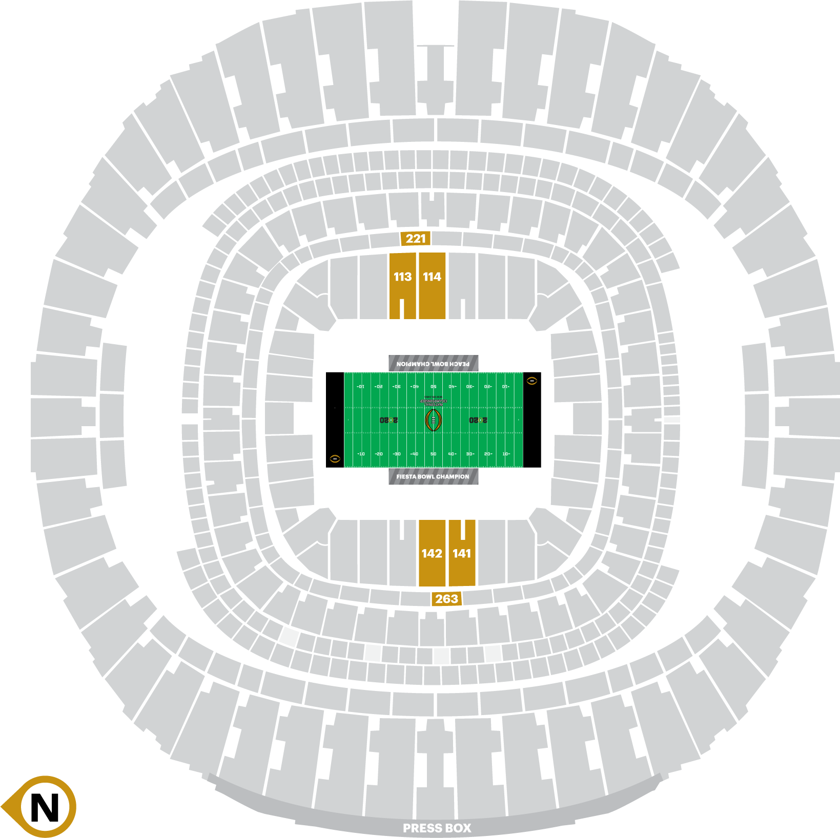 2020-CFP-Seating-Chart-New-Orleans-Hall-of-Fame-1