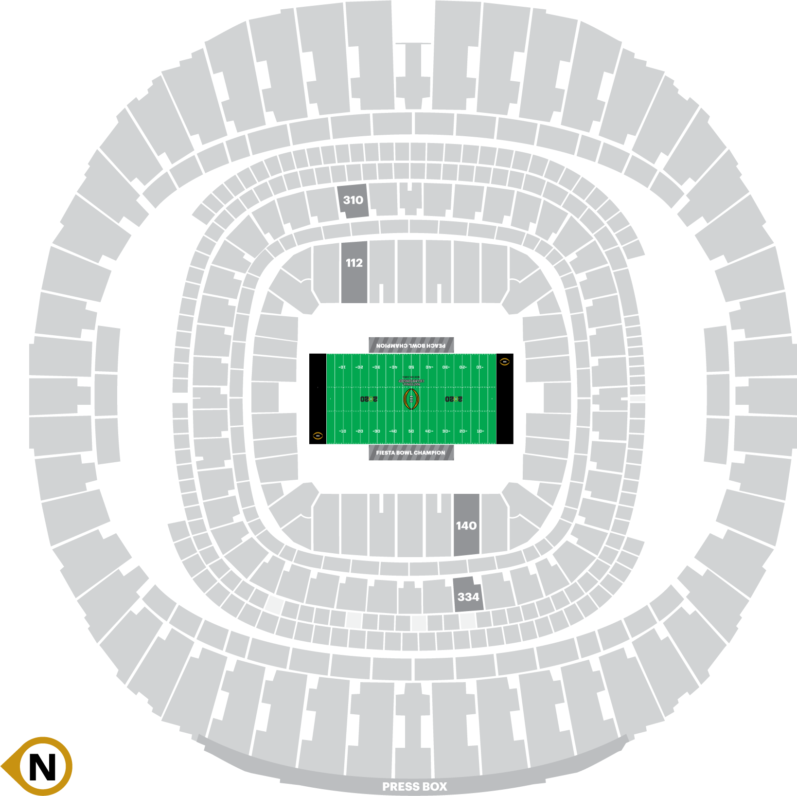 2020-CFP-Seating-Chart-New-Orleans-All-American-1