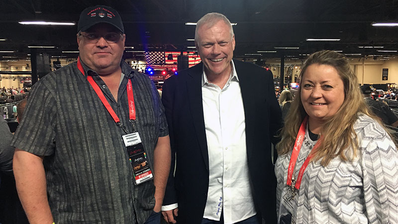 photo with craig jackson at barrett jackson