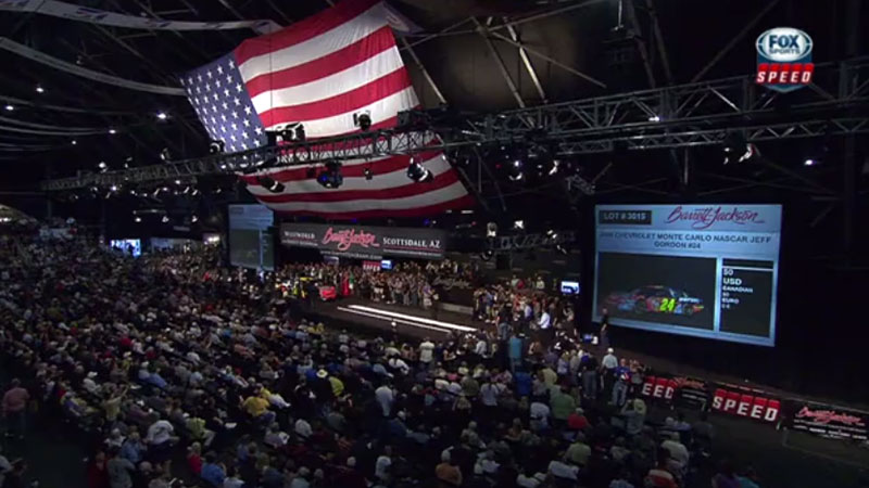 barrett jackson auction audience