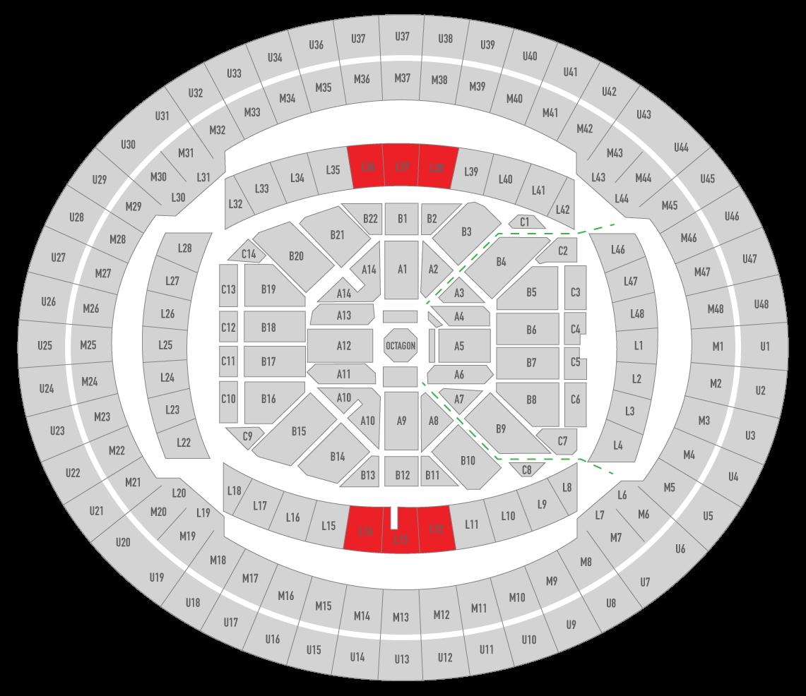 UFC 243 Marvel Stadium Seating Chart Fan
