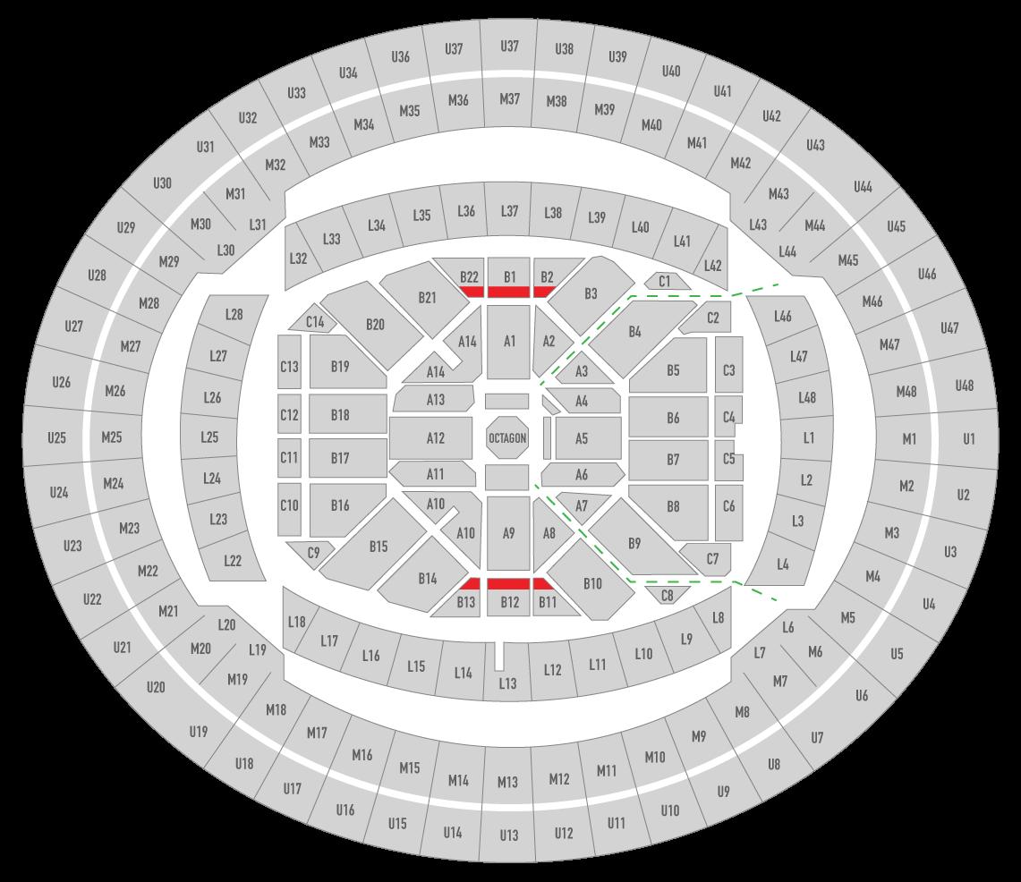 UFC 243 Marvel Stadium Seating Chart Superfan