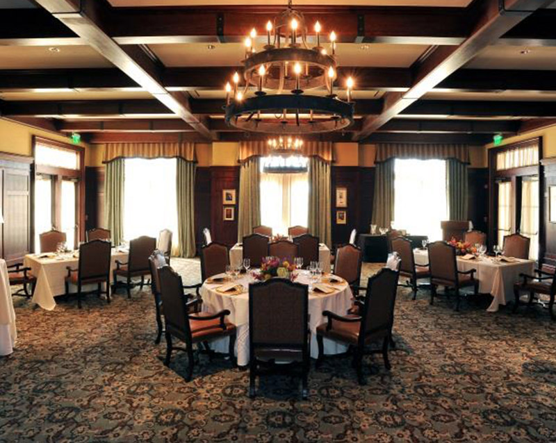 interior of the players club hospitality