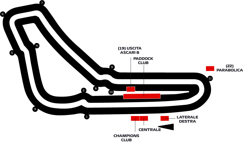 Monzanet Calendario 2020.Formula 1 2020 Italian Grand Prix Tickets F1 Experiences