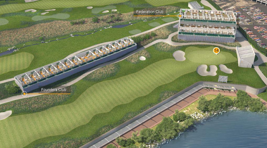 Federation Club at Liberty National Golf Club