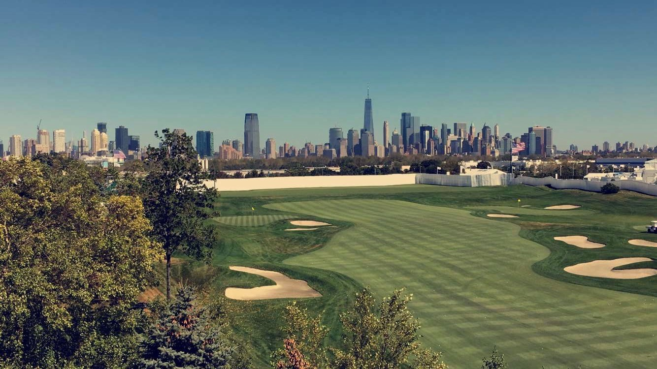 Liberty National Golf Course for Presidents Cup 2017
