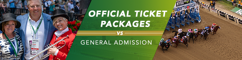 Belmont Official Ticket Package vs. General Admission