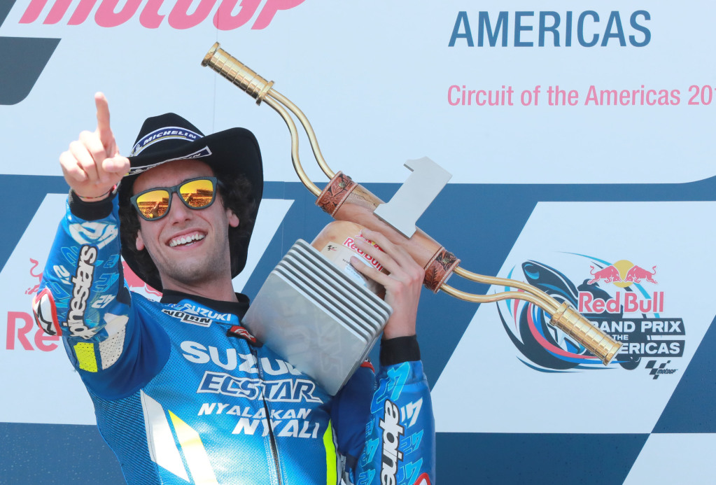 Alex Rins wins 2019 MotoGP at COTA