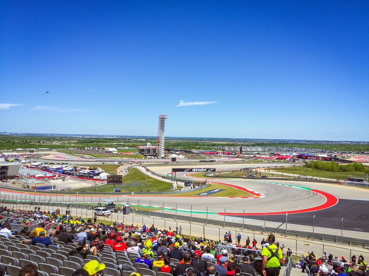 Turn 1 Circuit of The Americas