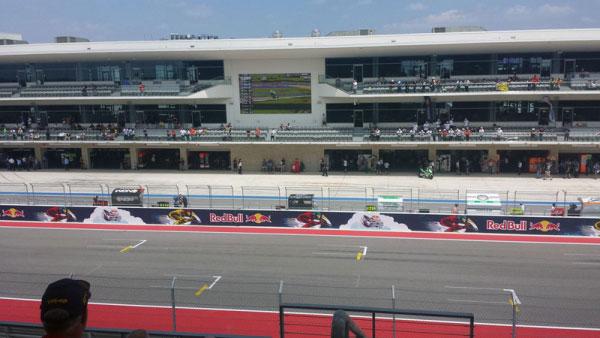 COTA Experiences MotoGP Main Grandstand