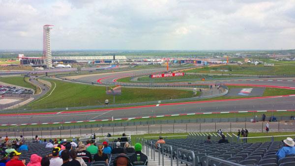 COTA Experiences MotoGP Turn 1