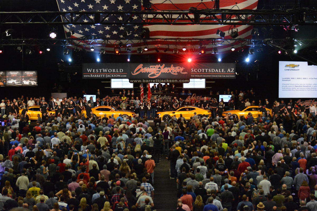 Barrett-Jackson Bidders