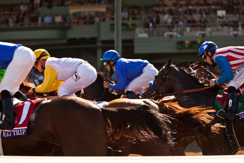 Breeders-Cup-Experiences-Santa-Anita-Close-up-of-Jockeys-on-Horses