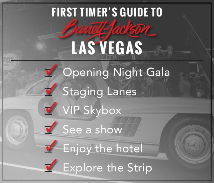 Barrett-Jackson Las Vegas Checklist