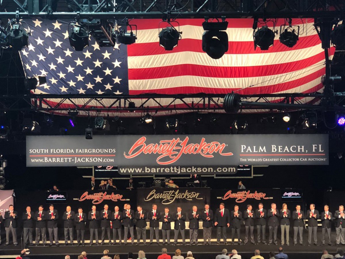 Barrett-Jackson Palm Beach