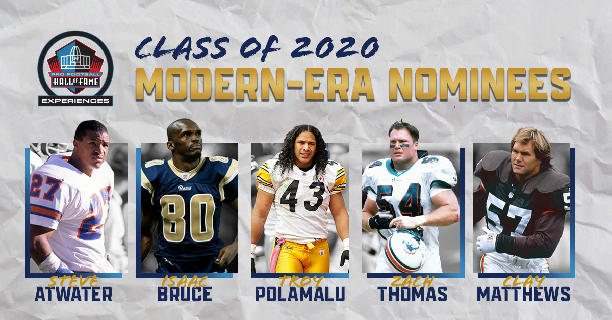 2020 Hall of Fame Modern-Era Nominees