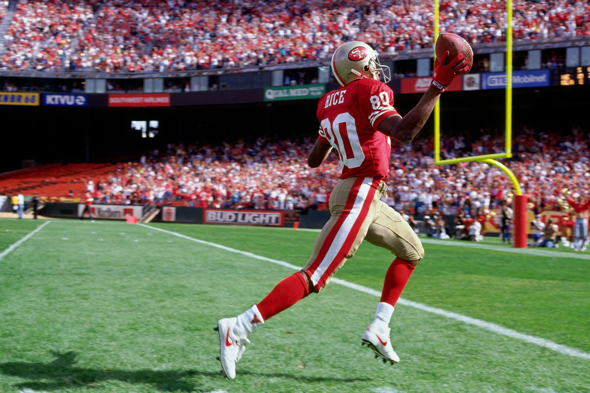 Jerry Rice 2020 Super Bowl