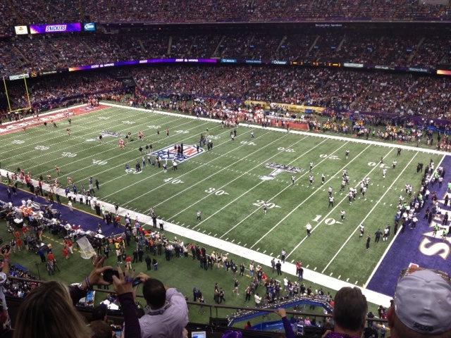 Inside the Superdome