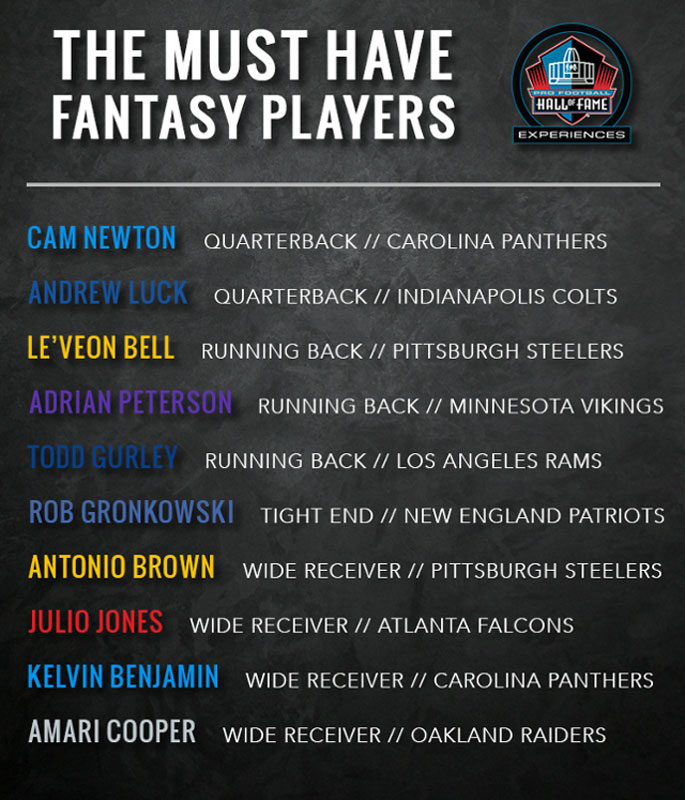 Must Have Fantasy Players