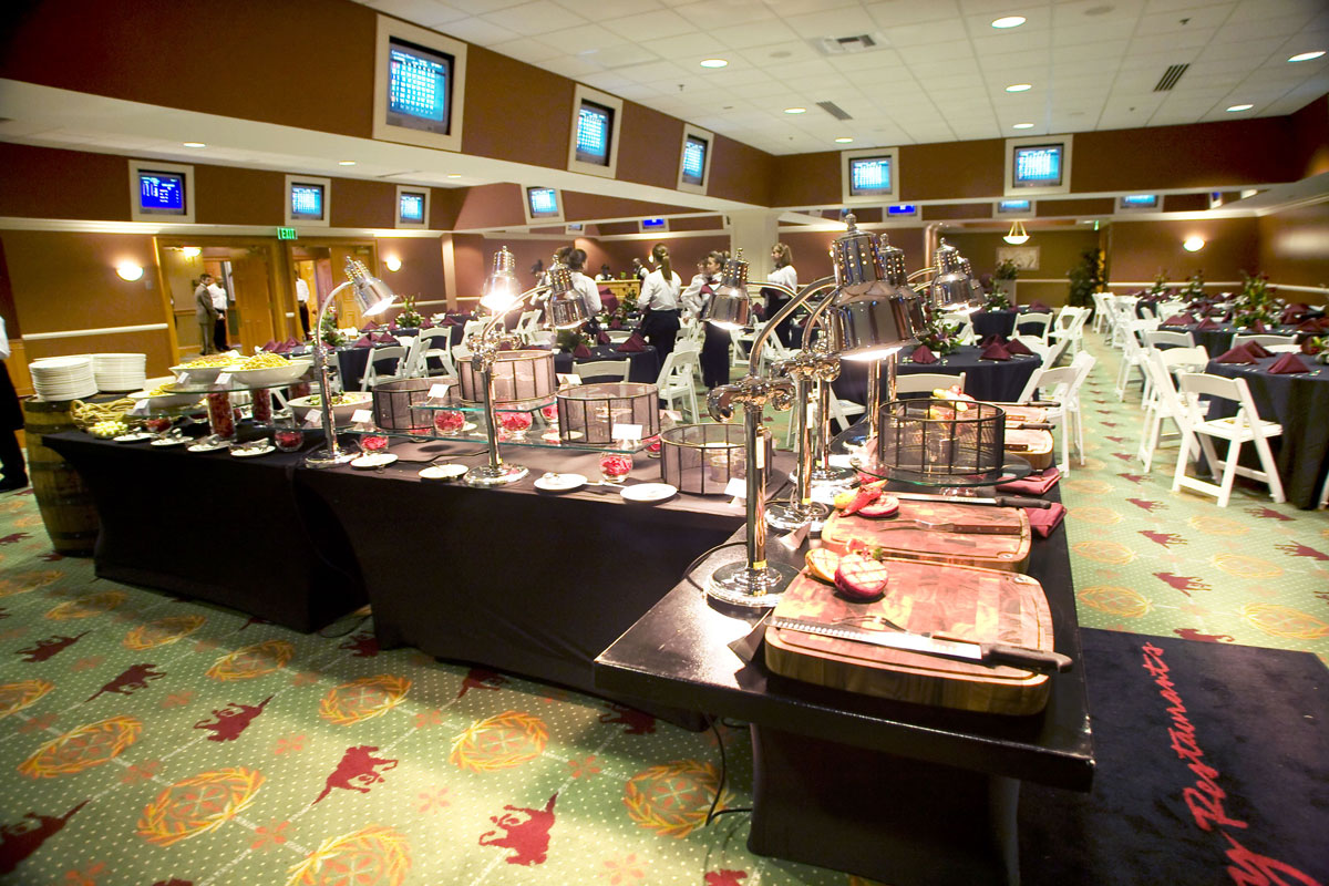 Trophy Room at Kentucky Derby