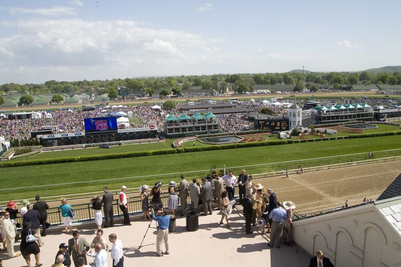 2014 Kentucky Derby Derby Room Terrace