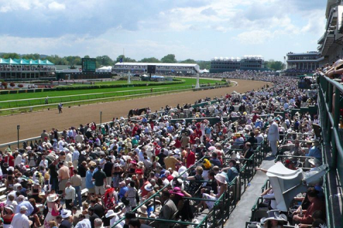 2014 Kentucky Derby Grandstand Orange View 1 resized 600