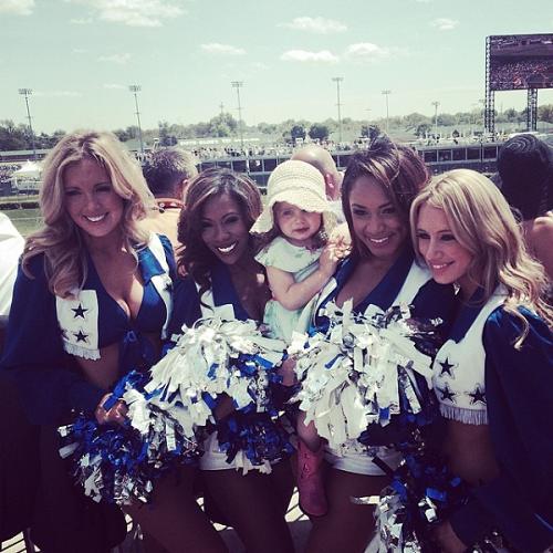 Dallas Cowboys Cheerleaders Derby Experiences Kentucky Derby