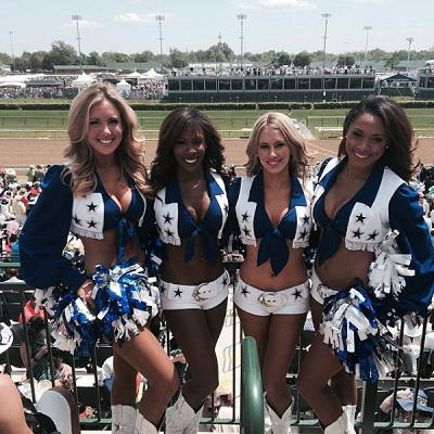 Dallas Cowboys Cheerleaders Kentucky Derby Derby Experiences
