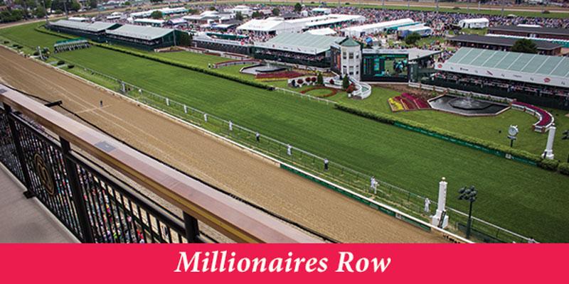 Millionaire's Row 2020 Kentucky Derby