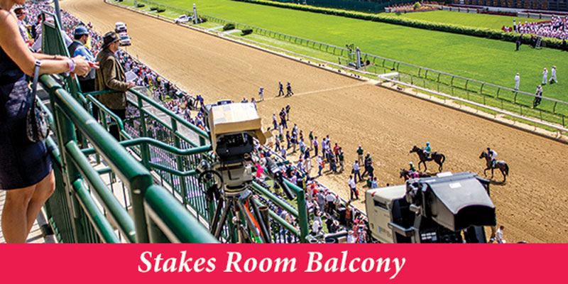 Stakes Room Balcony 2020 Kentucky Derby