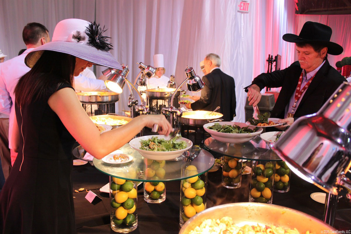 Hospitality at the Kentucky Derby