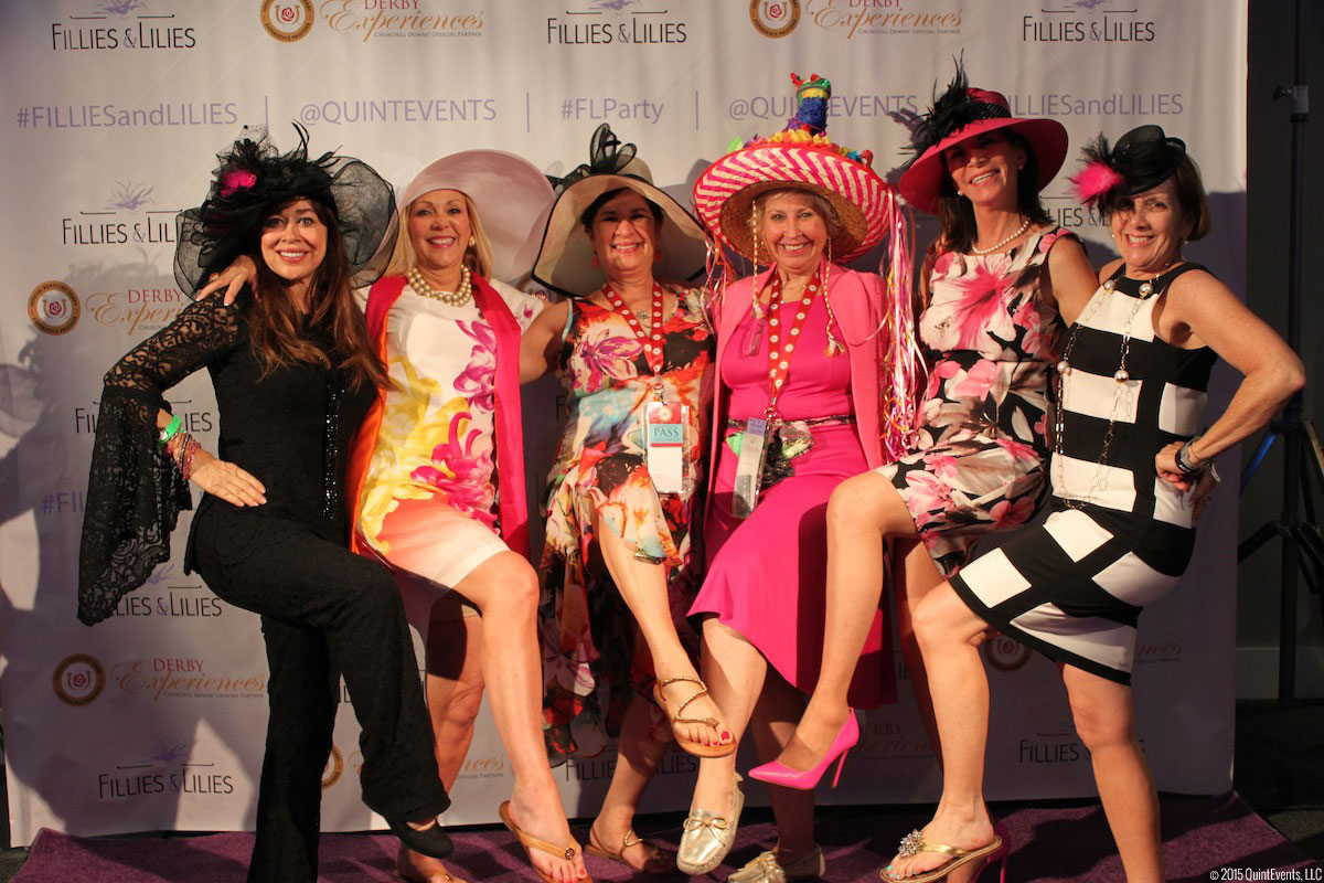 Derby Experiences Fillies & Lilies Party