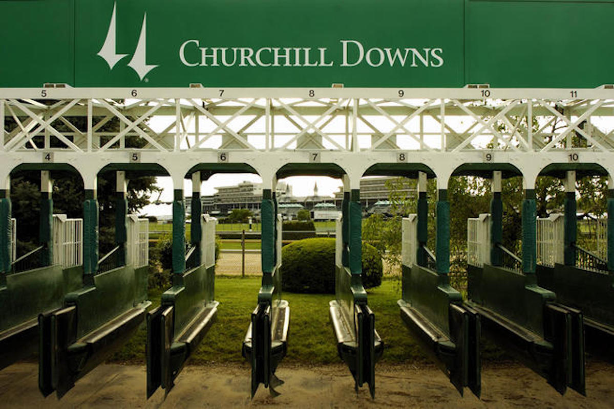 Churchill Downs Starting Gate Kentucky Derby